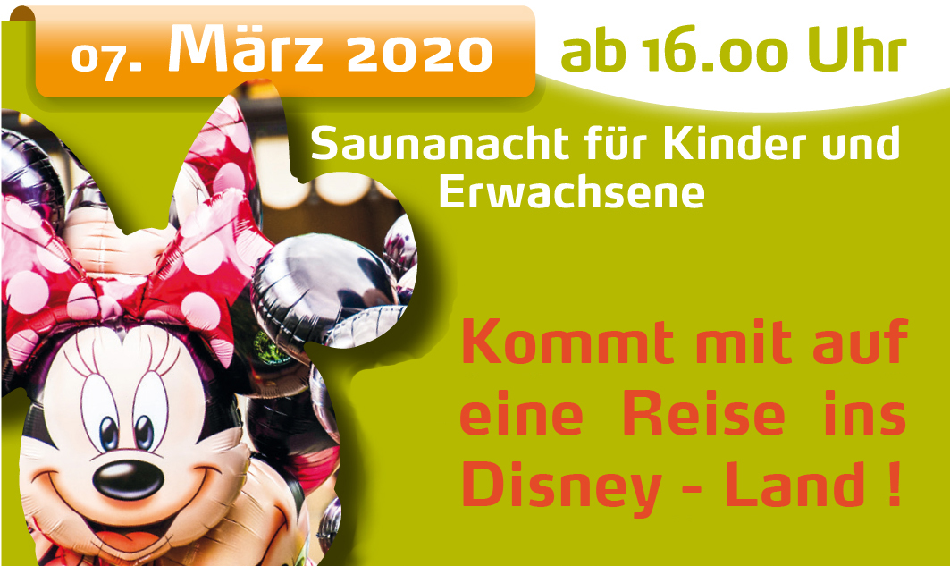 Saunanacht Disney (R)